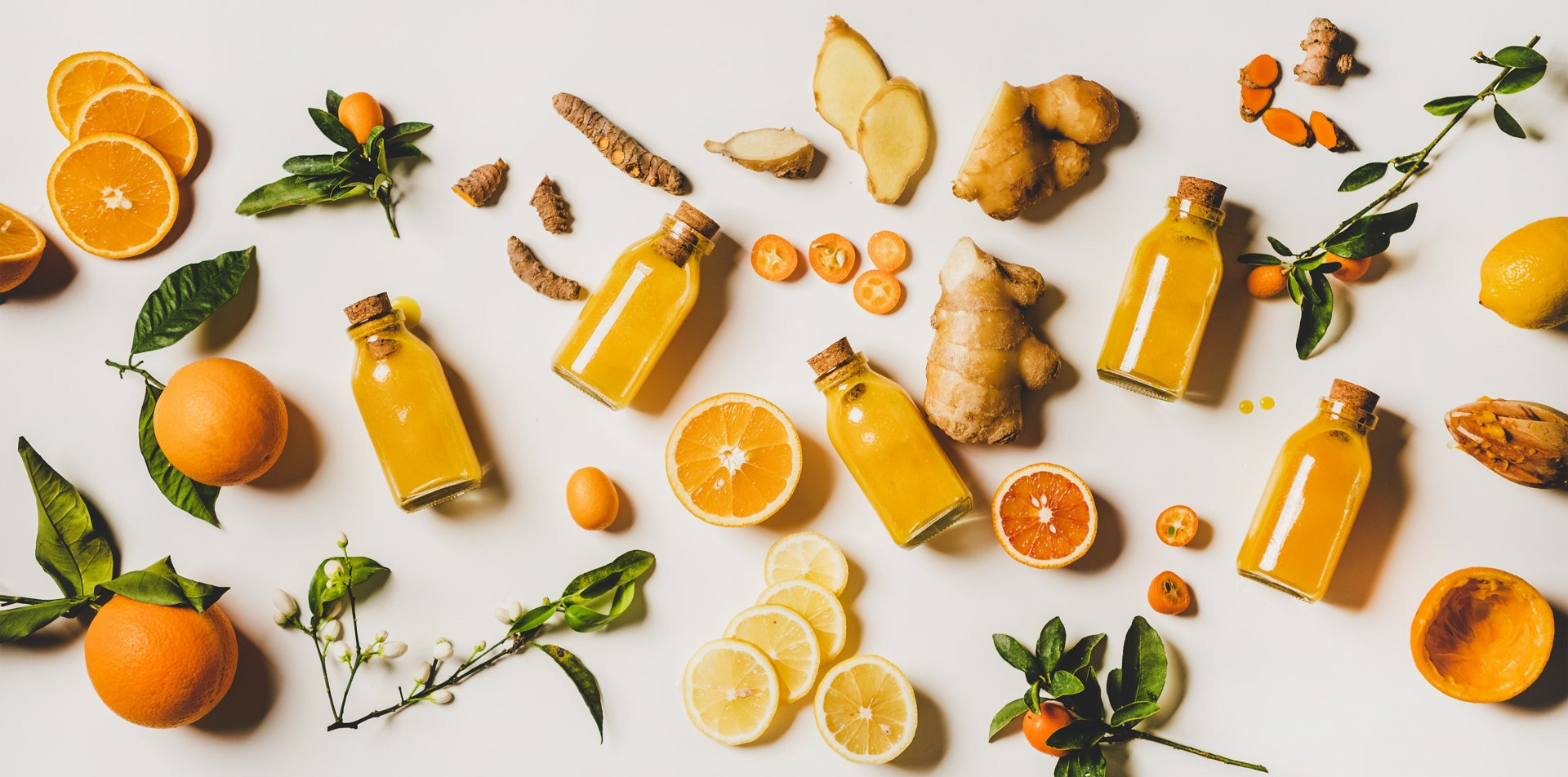 imbir marchewka cytryna pomarańcza miód