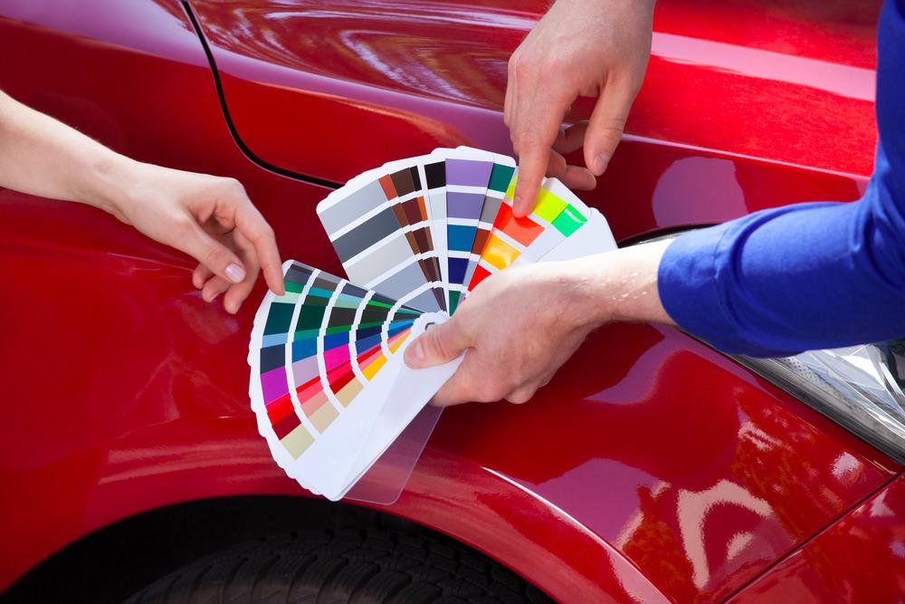 wzorniki lakierów samochodowych