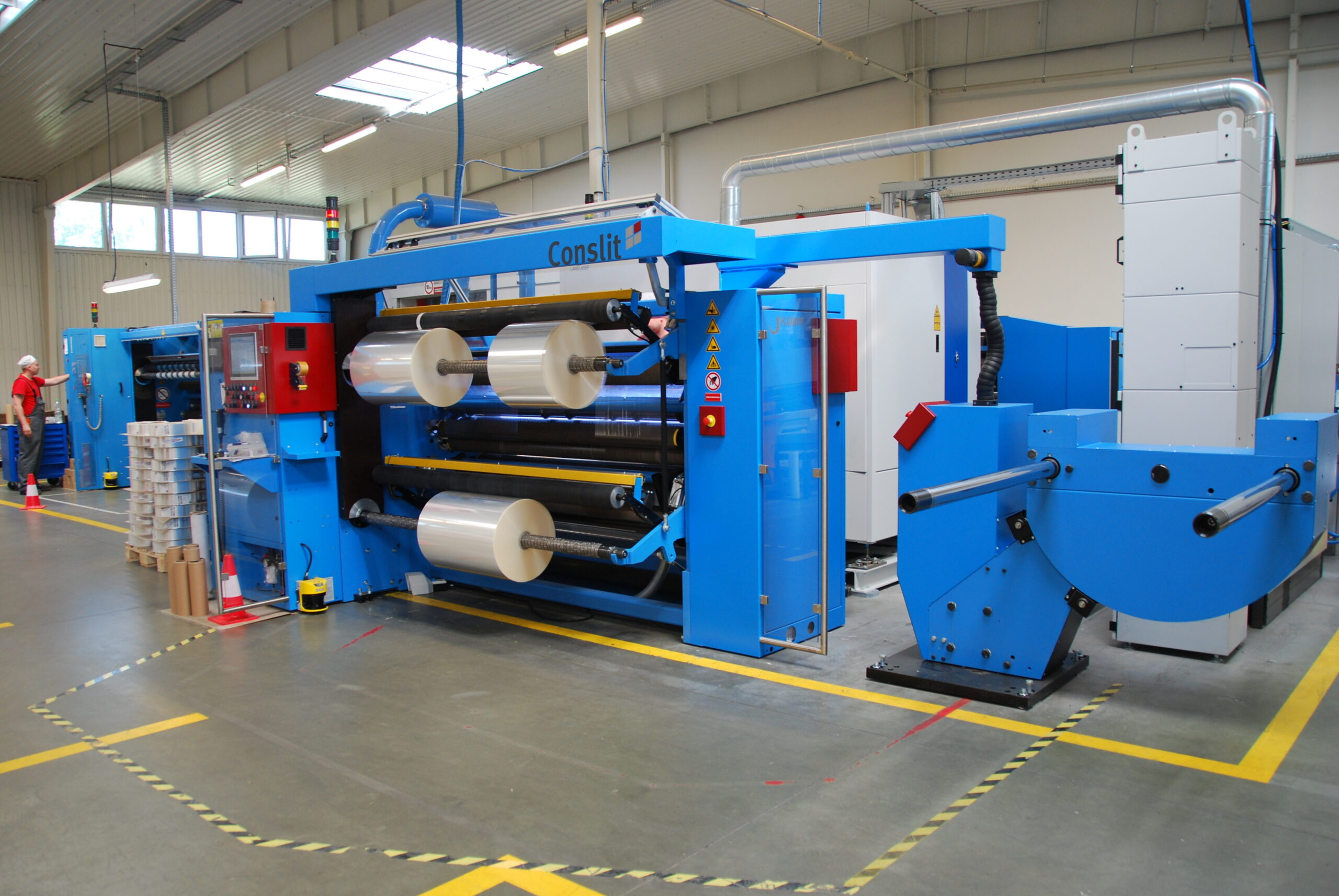 maszyna do opakowań plastikowych conslit
