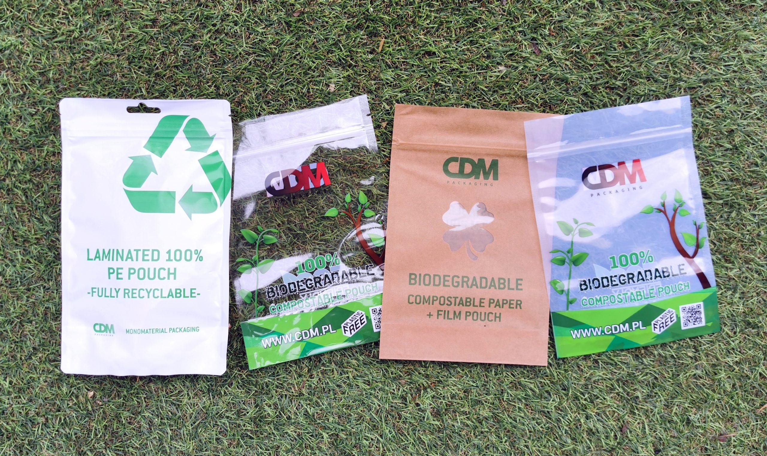 biodegradowalne opakowania cdm