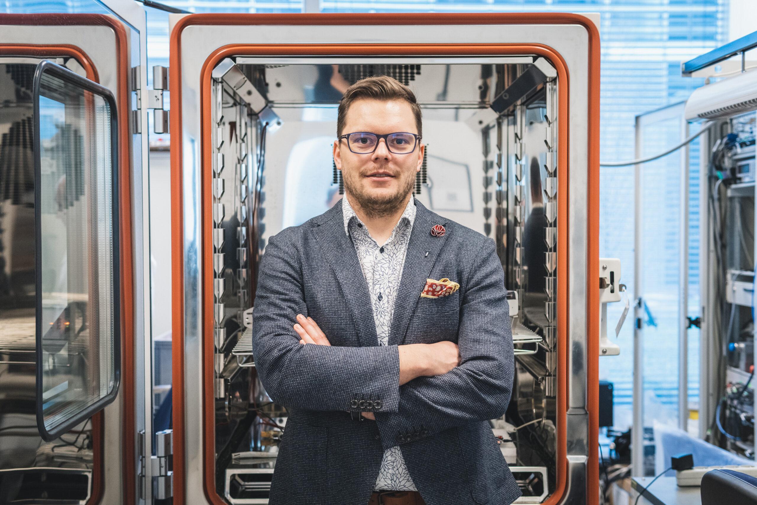 Doktor inżynier Szymon Talbierz Innovatree