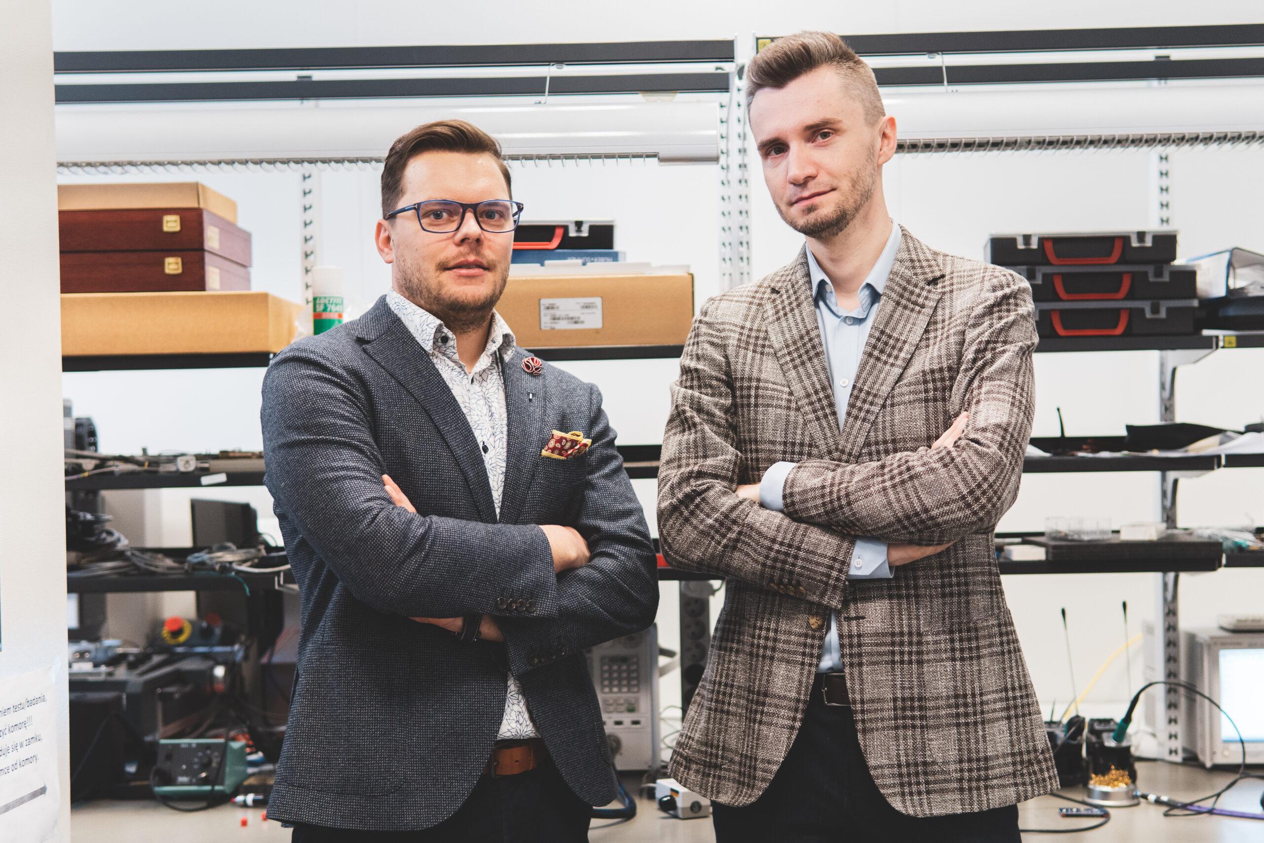 Partnerzy firmy Innovatree Szymon Talbierz i Paweł Sieczkowski