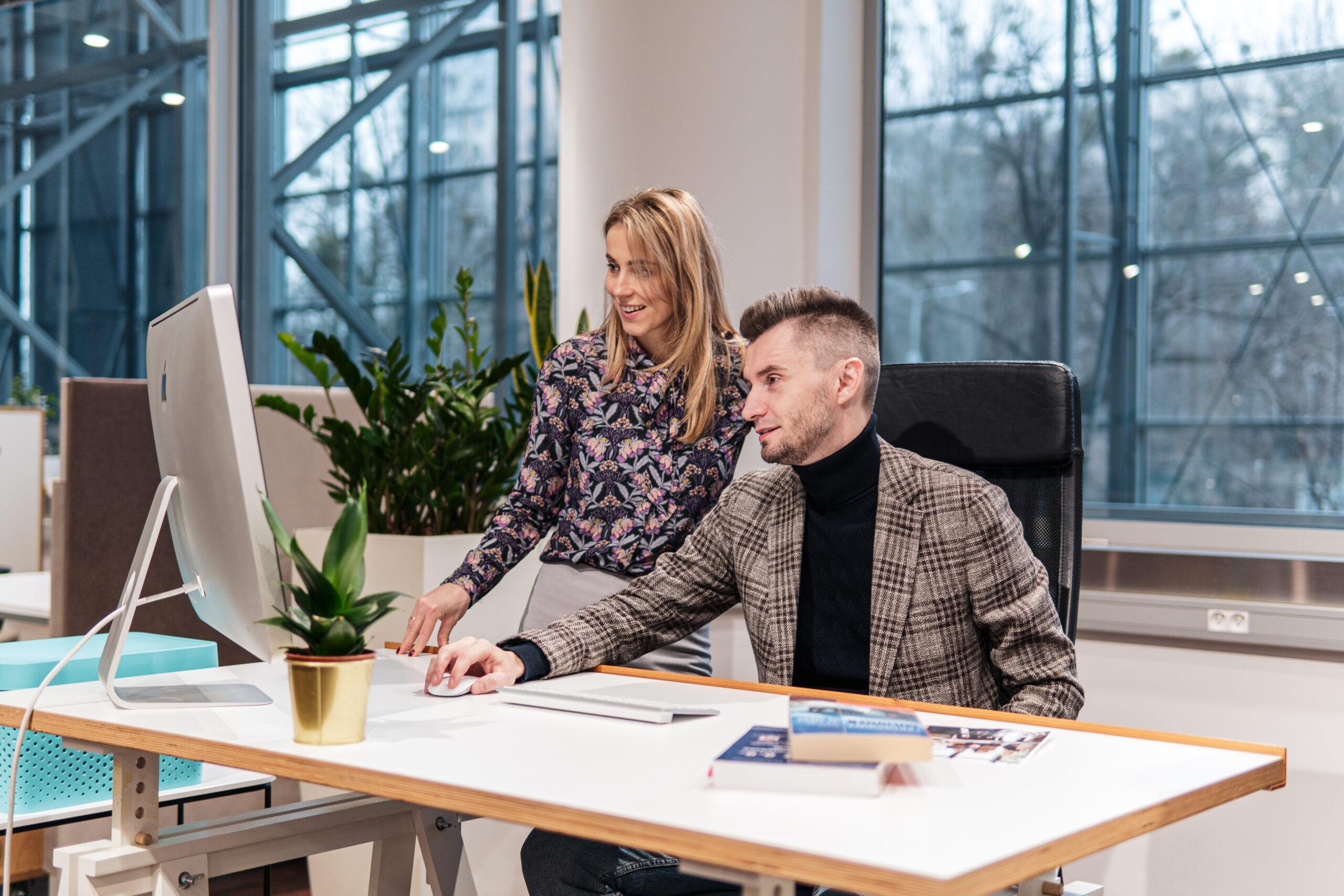 Paweł Sieczkowski i Natalia Kujawska Partnerzy Innovatree