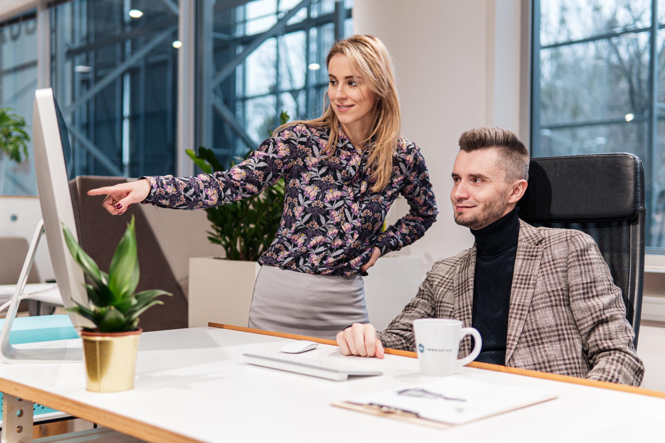 Natalia Kujawska i Paweł Sieczkowski Partnerzy Zarządu Innovatree