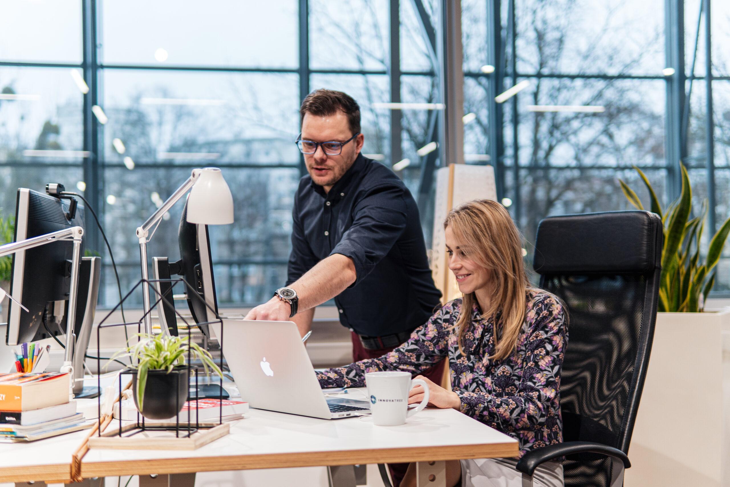 Szymon Talbierz i Natalia Kujawska Partnerzy Zarządzający Innovatree