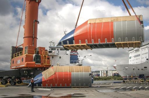 budowa części do statków